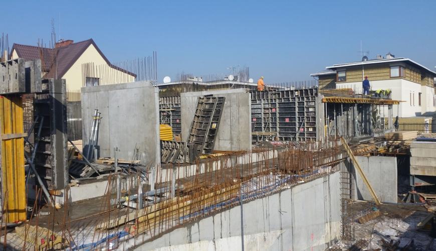 Postęp budowy 02.2017