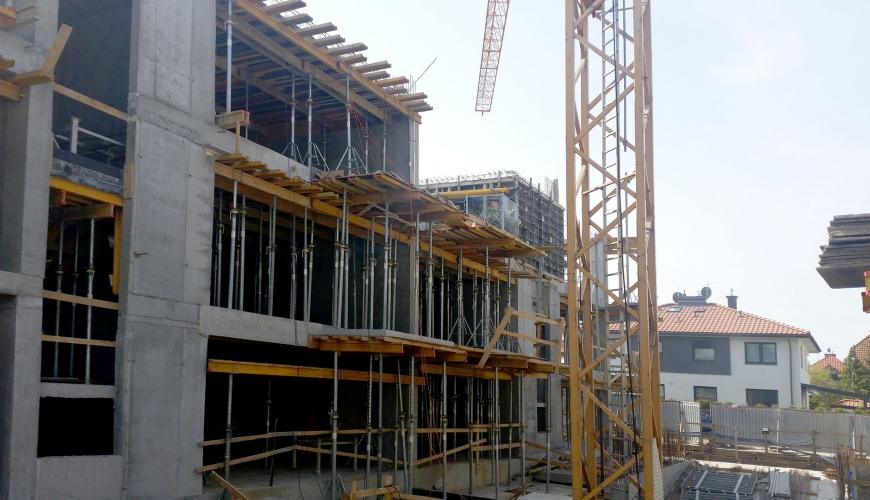 Postęp budowy 04.2017