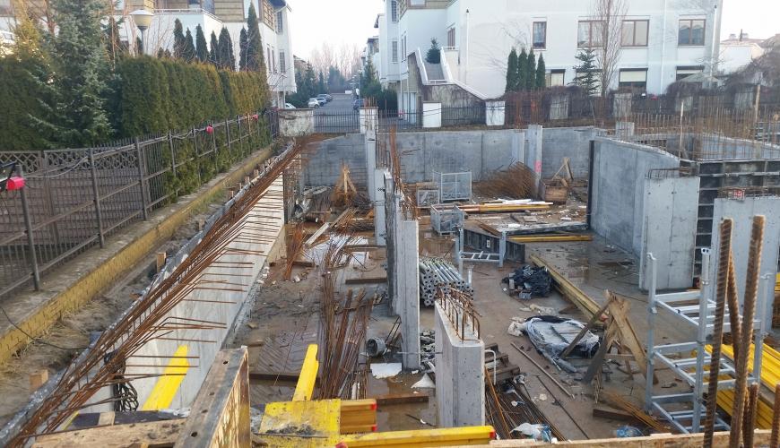 Postęp budowy 12.2016