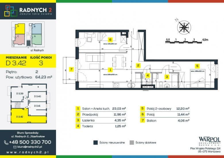 Mieszkanie D 3.42